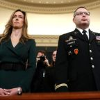 Trump impeachment: US military officer on Trump 'bribery' says conversation was 'inappropriate'