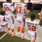 NFL player protests not appropriate during anthem: Fmr. Patriots owner