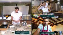 Tous en cuisine en direct avec Cyril Lignac : Manu Payet abandonne sa recette, une première dans l'émission !