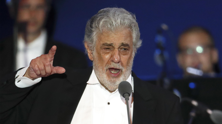Placido Domingo apologizes for misconduct