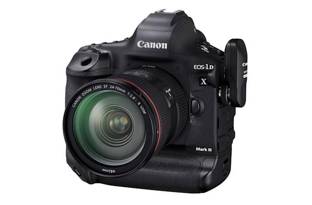 Canon's EOS 1D X Mark III will be a technological tour de force