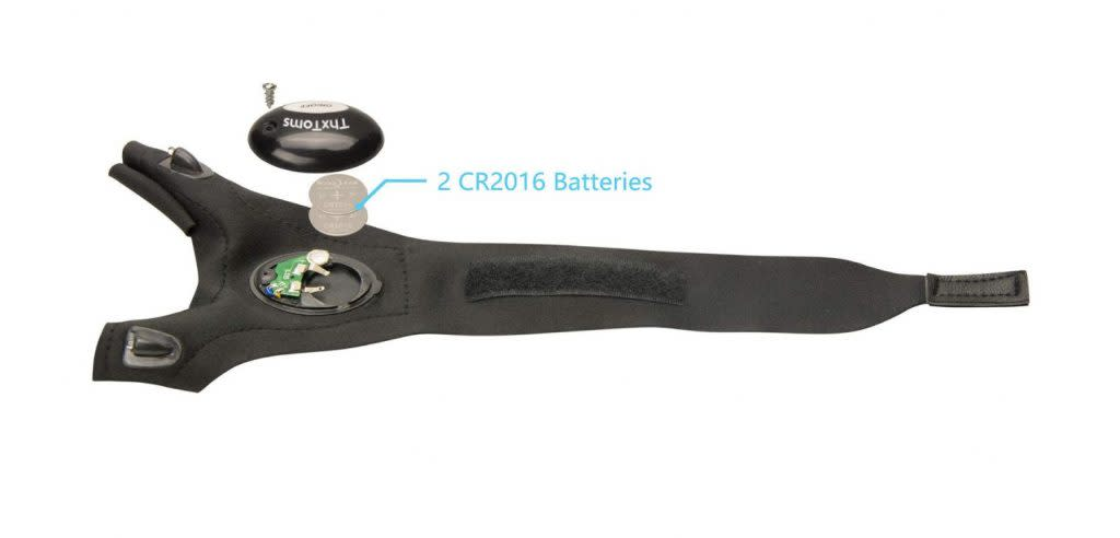 ThxToms LED Flashlight Gloves Battery Replacement