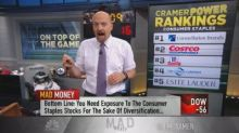 Cramer's consumer staples 'power ranking'