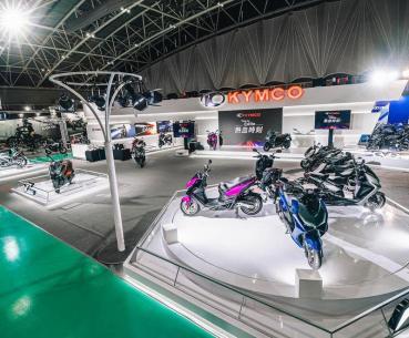 【二輪車展】宣示霸主地位 二輪龍頭KYMCO五股車展多款新車盛大展出