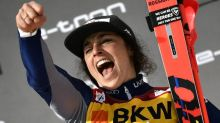 Federica Brignone amps it up after World Cup overall title in Mikaela Shiffrin's absence