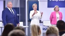 LIVE BLOG: Ontario leaders face off for first election debate