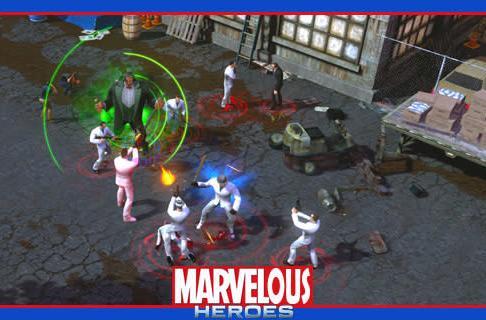 The Stream Team: Patrolling Marvel Heroes' Industry City