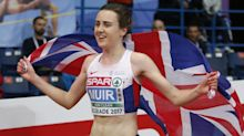 Laura Muir praises 'brilliant' London marathon run of Joshua Griffiths