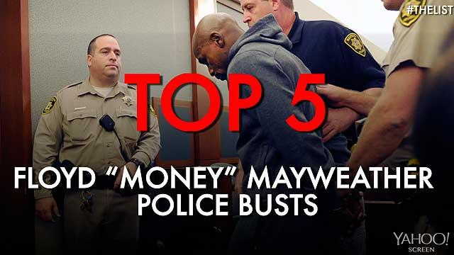 Top 5 Floyd Mayweather police busts
