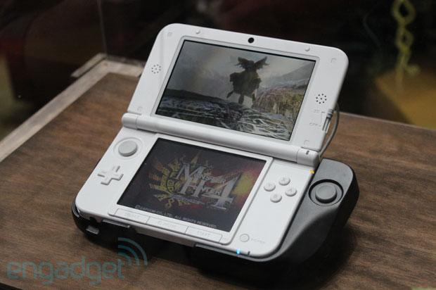 Circle Pad Pro for 3DS XL spotted at TGS, we go hands-on (video)