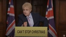 Robbie Williams transforms into Boris Johnson for 'Can't Stop Christmas' video