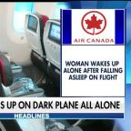 Woman wakes up locked in on Air Canada plane
