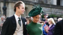 Heavily pregnant Pippa Middleton 'spotted arriving at Lindo Wing maternity unit with husband carrying bags'
