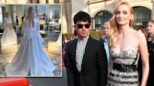 Sophie Turner's wedding dress: First official photo of Louis Vuitton gown