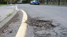 Potholes still an issue in 2020 despite drop in traffic volumes
