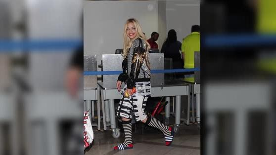 Rita Ora Commits the Ultimate Fashion Crime
