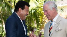 Prince Charles makes a cheeky quip as he meets Lionel Richie