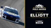Chase Elliott wins Busch Pole Award for Sunday's Darlington playoff opener