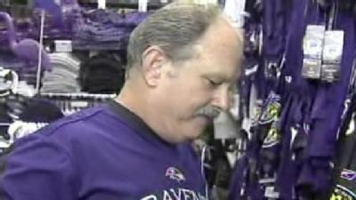 Ravens Merchandisers Ready For The Fans