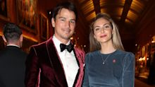 Josh Hartnett confirms birth of third child with Tamsin Egerton