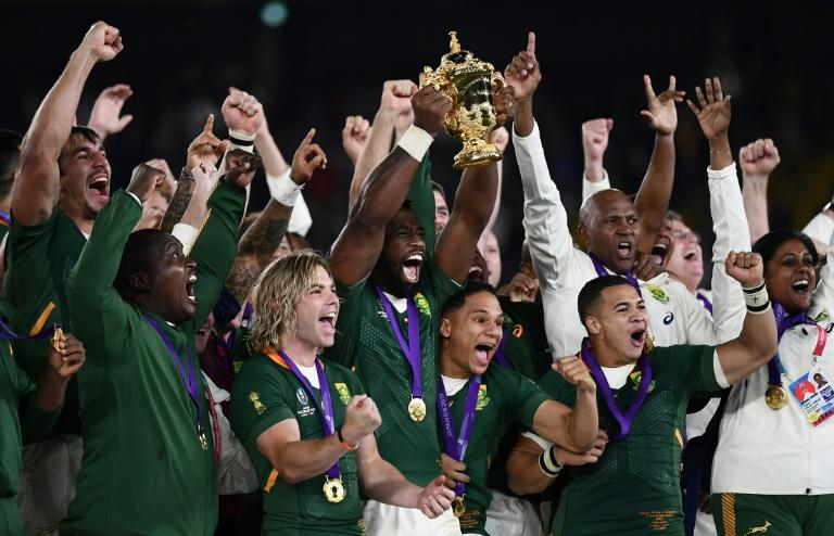 South Africa haven't played since winning last year's World Cup final against England