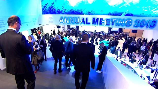Davos: Mood brighter this year at economic forum