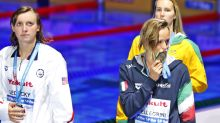 Stunner in Budapest: Ledecky loses for 1st time at worlds