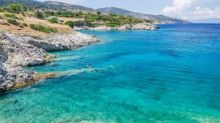 Tim Dowling: I swim far out into the Ionian Sea - and then I panic
