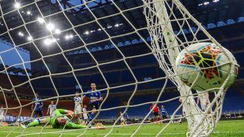 Inter gioca a tennis, 6-0 al Brescia