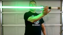 Check Out This Doctor Who-Inspired Star Wars Lightsaber