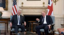 Tillerson meets with British, Saudi, UAE ministers on Yemen