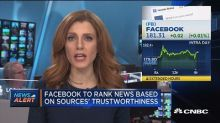 Facebook's News Feed will now have users decide 'high quality' news through surveys