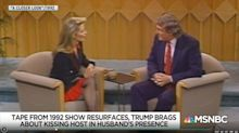 Unearthed Video Shows Trump Bragging About Open-Mouth Kiss On TV Host