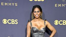 Laverne Cox strips down in wigless, makeup-free selfie