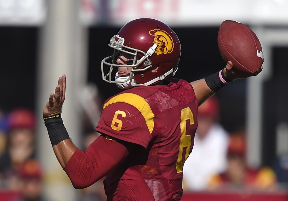 Kessler misses part of USC workout with toe injury