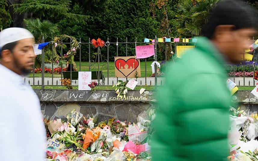 New Zealand broadcasts Muslim call to prayer on day of mourning for mosque shooting victims