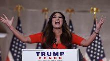 Elecciones en EE.UU.: el enérgico discurso de Kimberly Guilfoyle, la novia de Donald Trump Jr., en la convención republicana