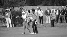 Why was a 16-year-old looper on Hale Irwin's bag during the famed 'Massacre at Winged Foot'?