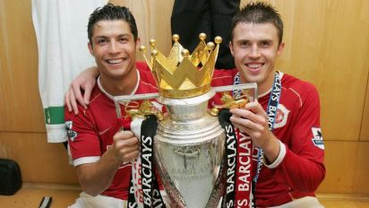Michael Carrick admits it was 'a joy' playing with Cristiano Ronaldo amid speculation of Manchester United return