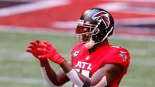 Falcons' estimated injury report lists Julio Jones as limited with hip injury