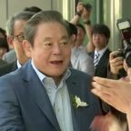 Samsung group chairman Lee Kun-hee dies