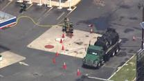 Contractor injured in Palmyra, New Jersey gas station explosion