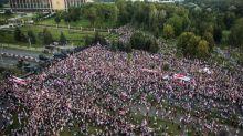 Bielorrusia: miles protestan contra Lukashenko; gobierno detiene a dirigente opositora