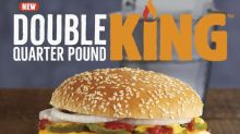 Burger King launches McDonald's knock-off with double quarter pound burger