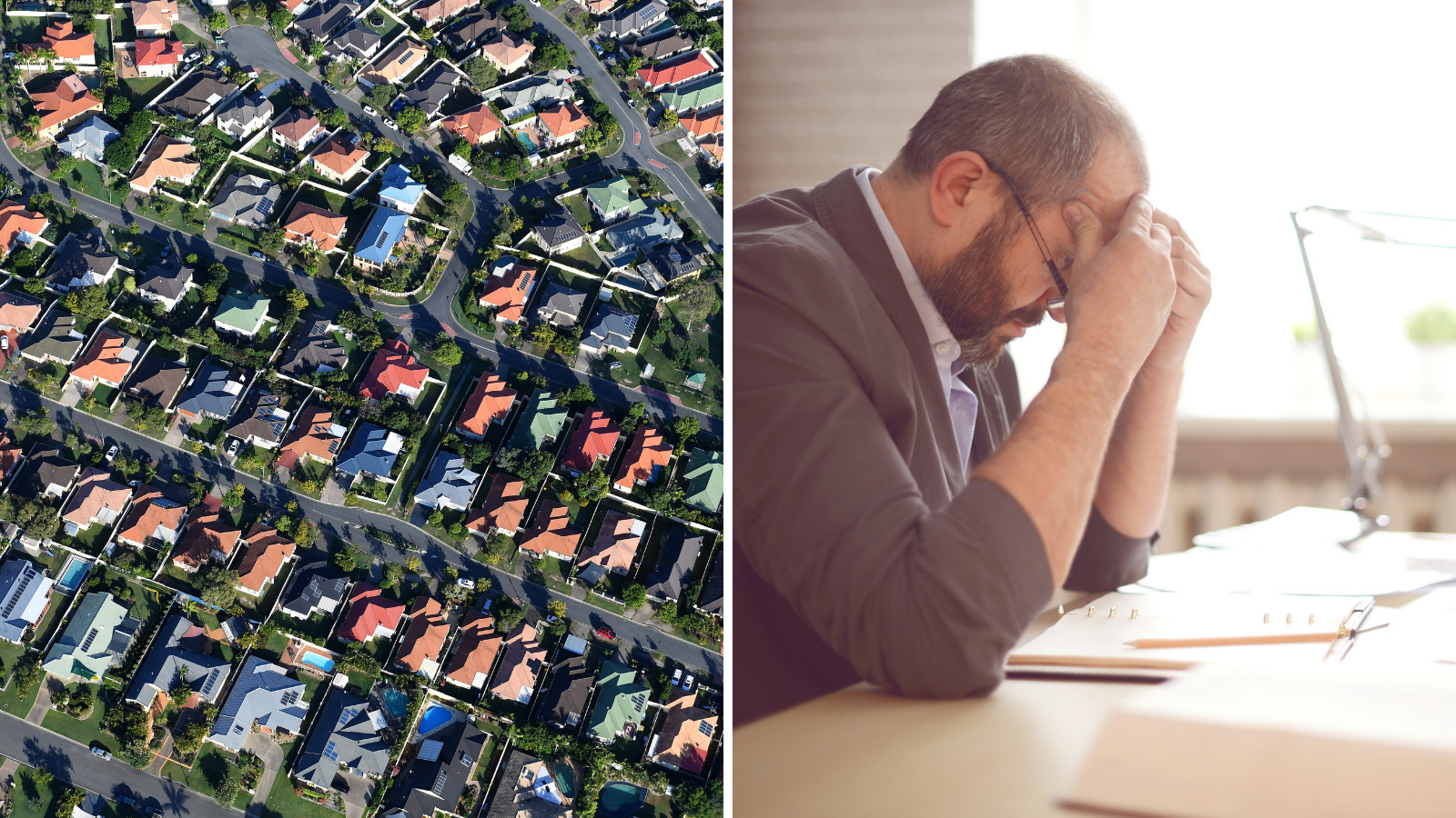 Property market meltdown could ruin small businesses, treasurer warns