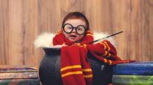 Convirtió a su bebé en la versión más tierna de Harry Potter