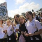 AP Photos: Youths worldwide call for action on climate