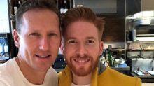 Strictly's Neil Jones enjoys reunion with Brendan Cole