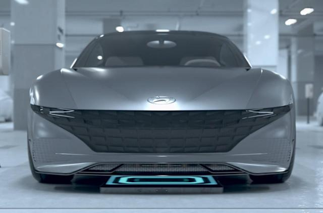Hyundai imagines a future where EVs can charge themselves