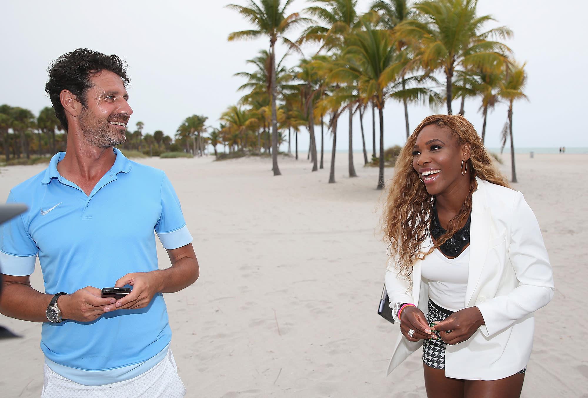 Serena Williams\u0027 Longtime Coach Sweetly Wishes Her a \u0027Very Happy ...
